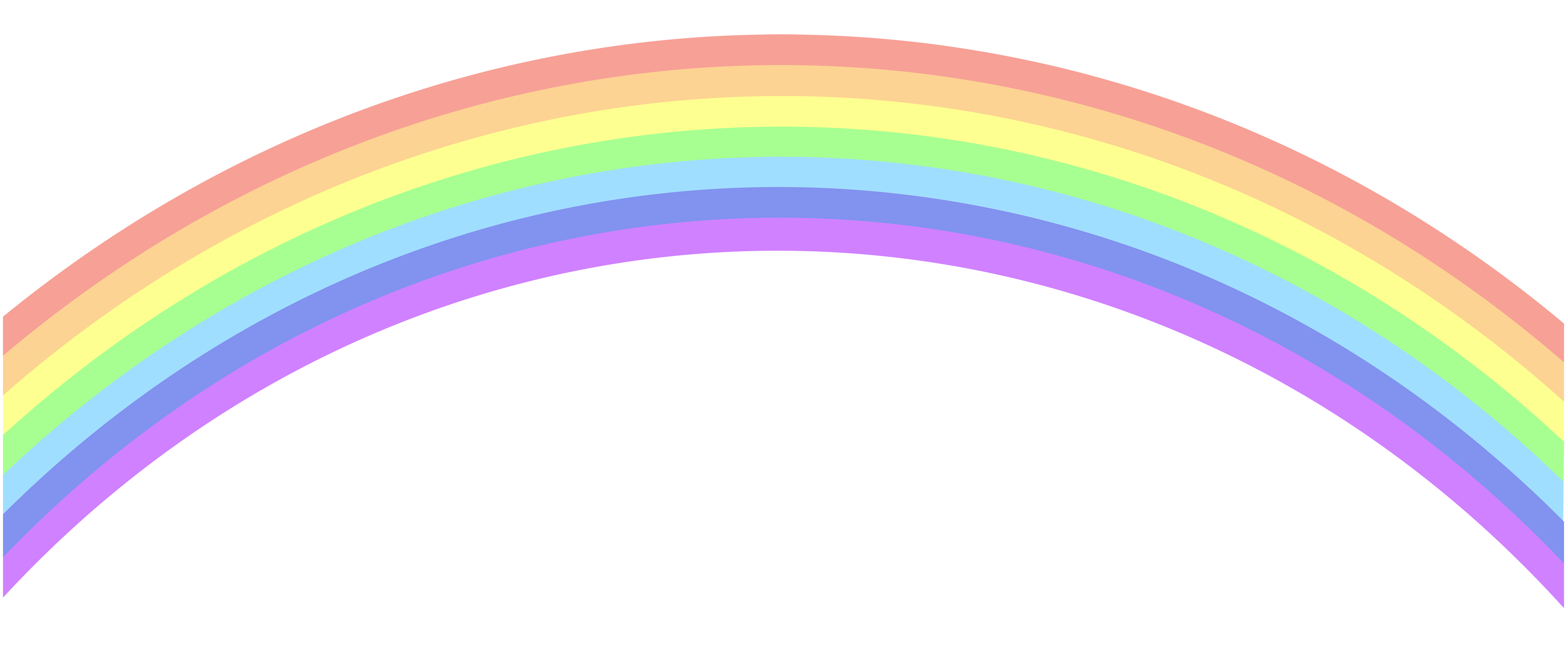 Rainbow banner png. Clip art image gallery