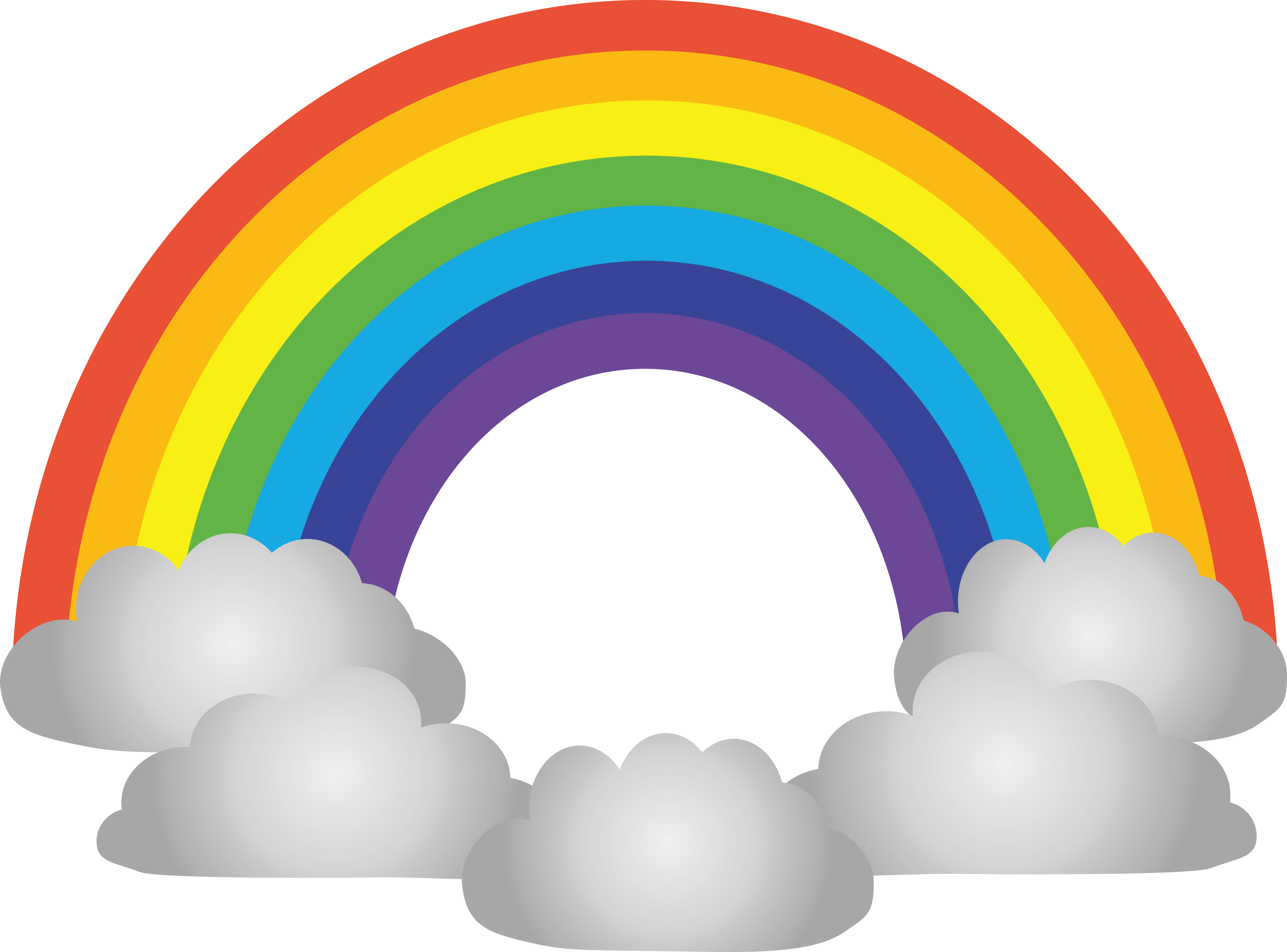 Rainbow cloud png. Images in collection page