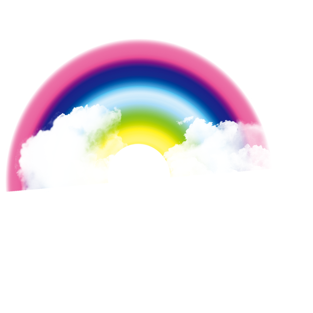 Rainbow cloud png. Sky iridescence transprent download