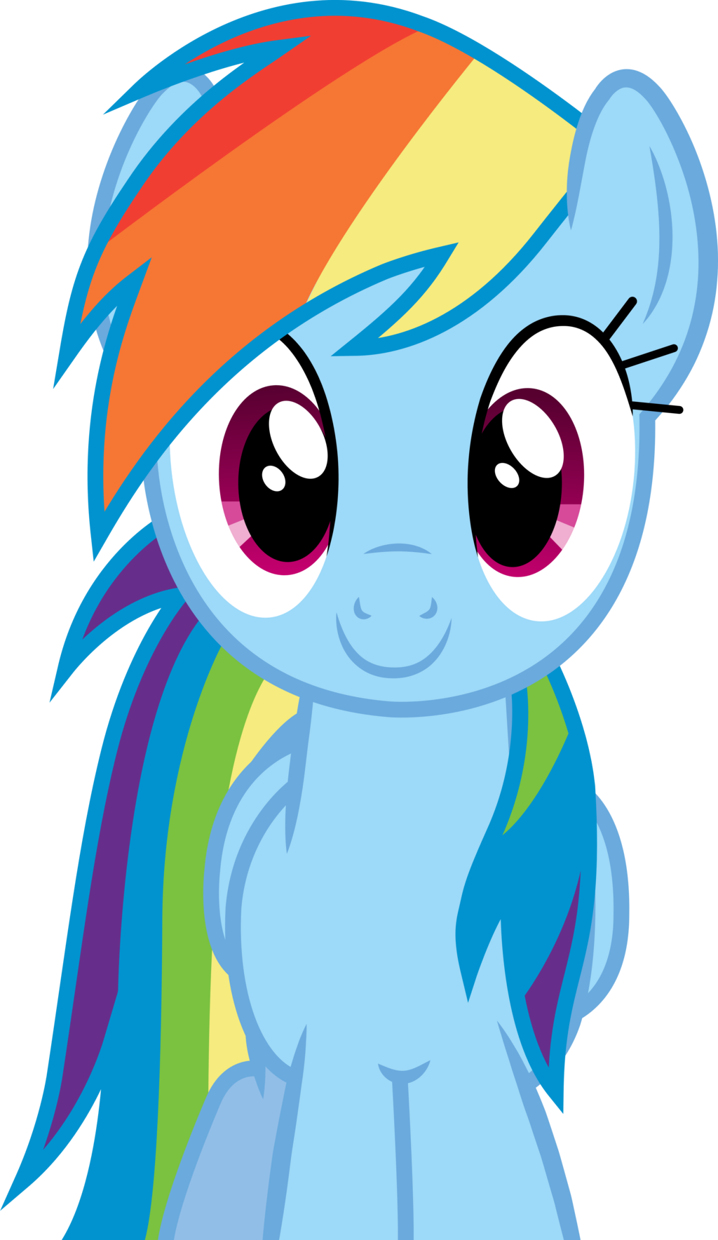 Rainbow dash smile png. Image fanmade smiling my