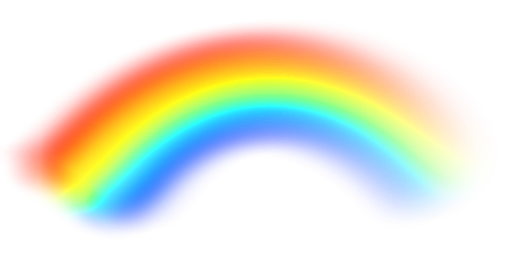Realistic rainbow png. Transparent pictures free icons