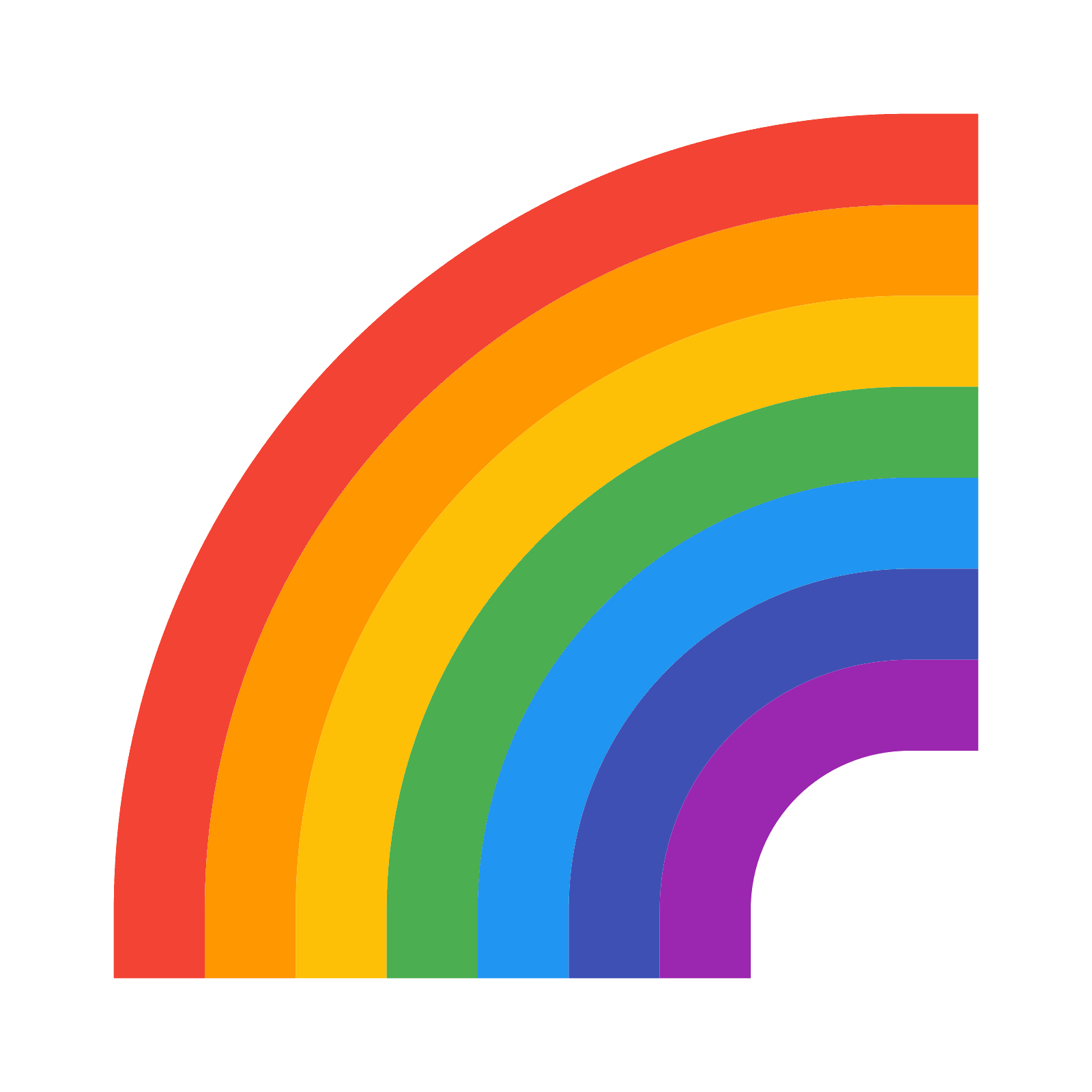 Rainbow png tumblr. Icon free download and
