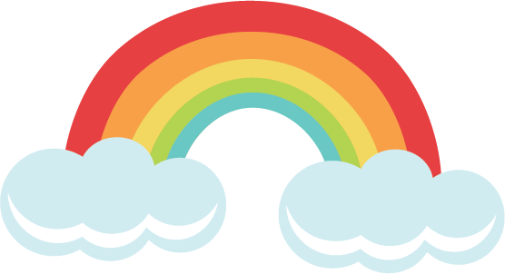 Svg unicorn rainbow. File for cutting machines