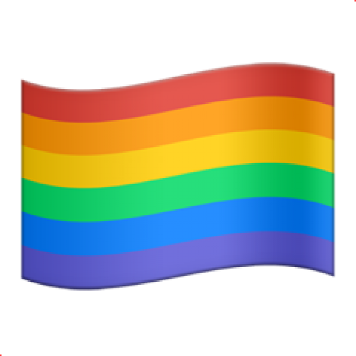 Rainbow flag png. Apple adds emoji for