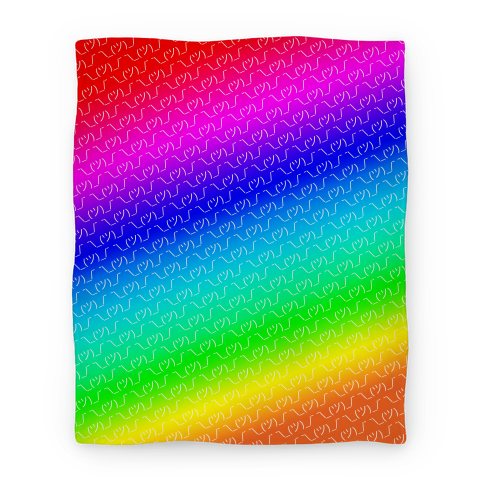 Rainbow gradient png. Emoticon shrugs blanket lookhuman