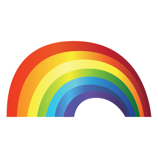 Rainbow gradient png. Colorful transparent svg vector