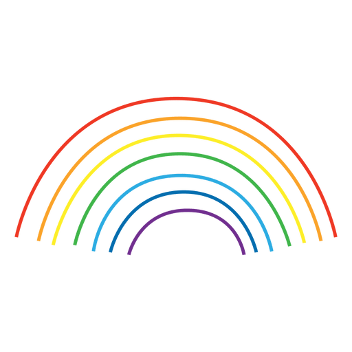 Rainbow line png. Colorful lines transparent svg