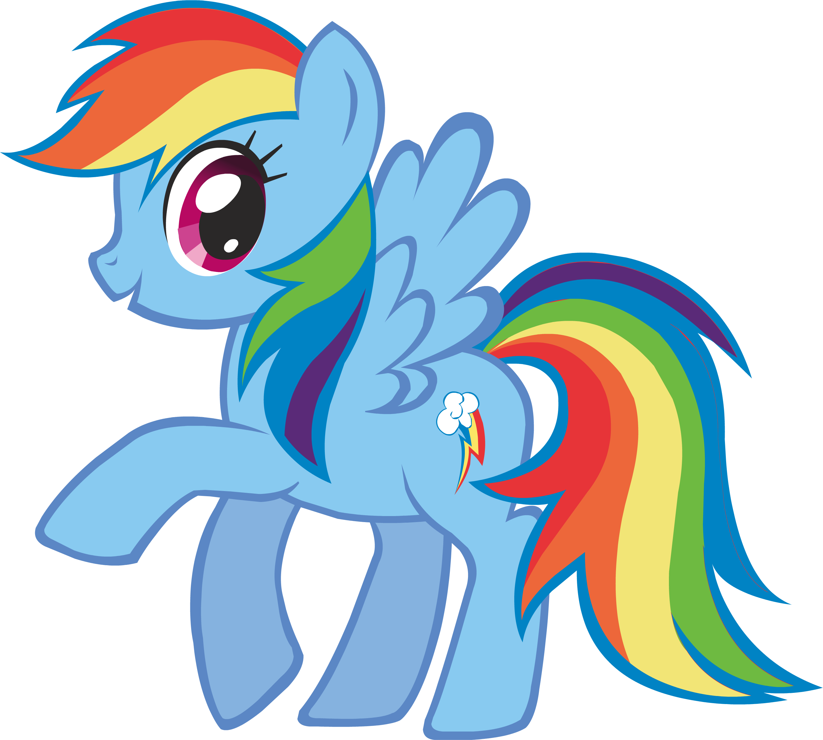 Rainbow llama png. Dash the parody wiki
