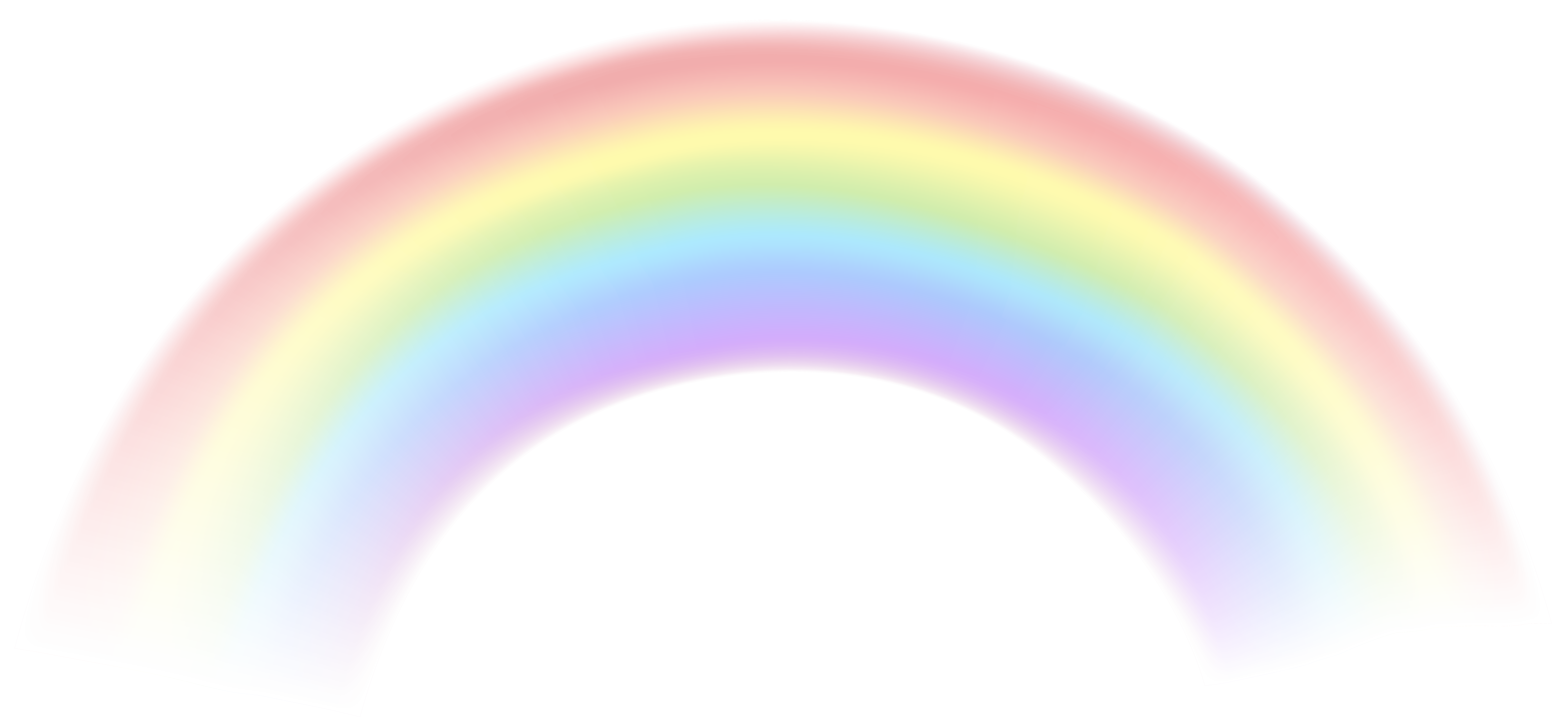 Rainbow overlay png. Transparent clip art image