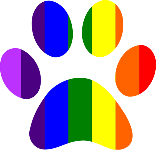 Rainbow paw png. The dog place ri