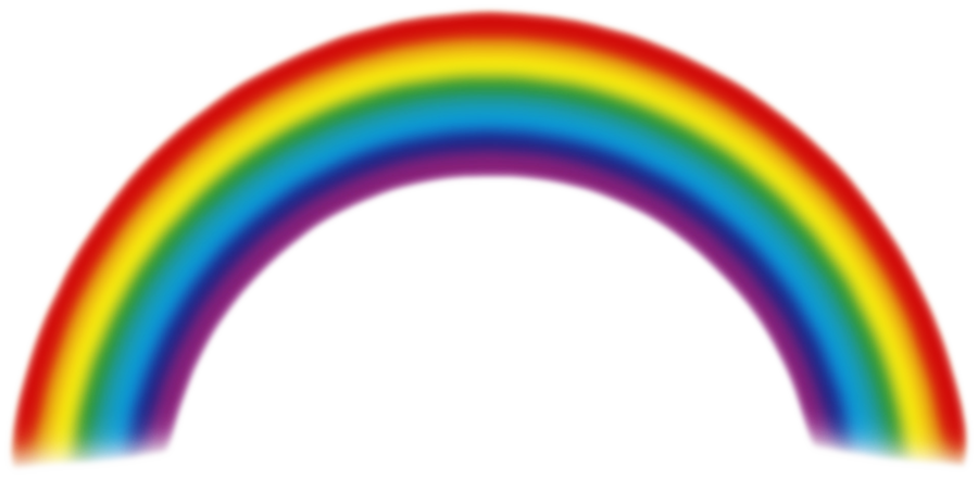 realistic rainbow png