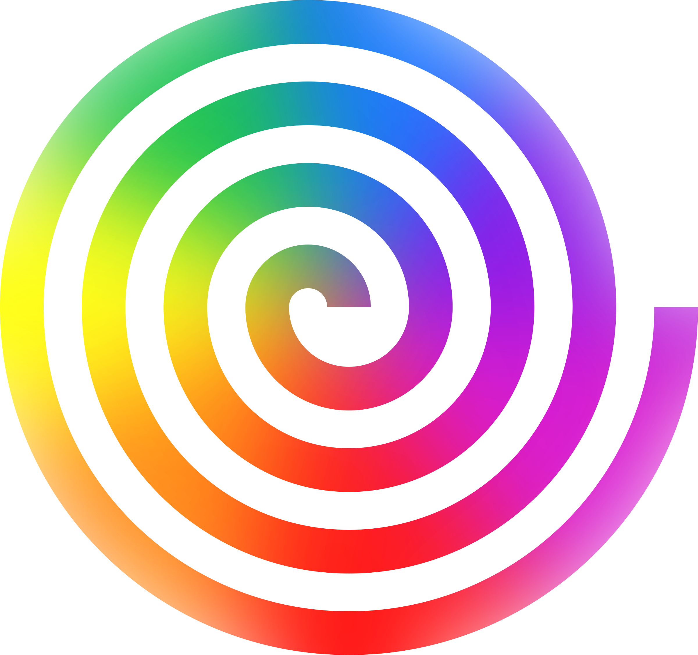 Rainbow big image png. Spiral clipart free stock