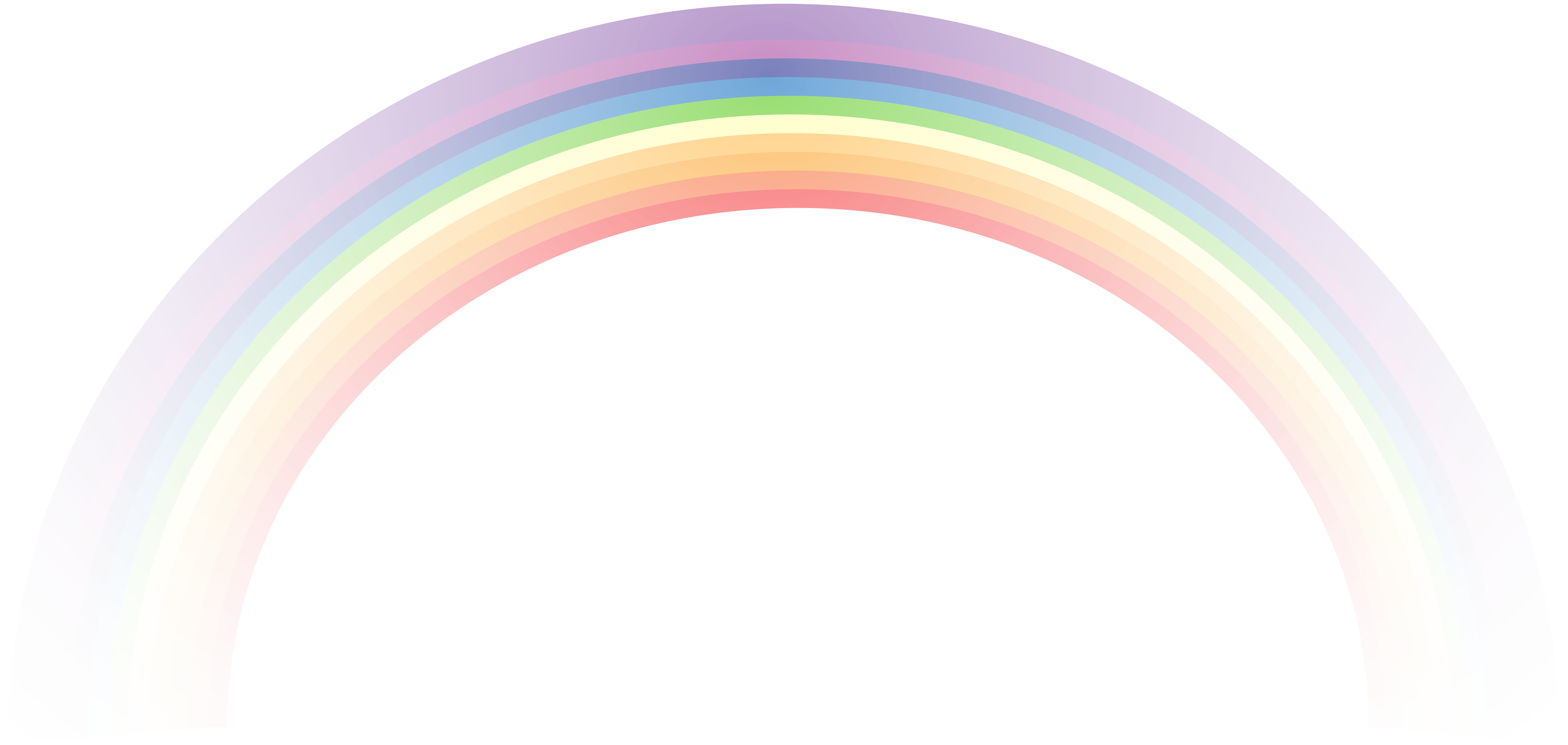 Rainbow transparent png. Clip art image gallery