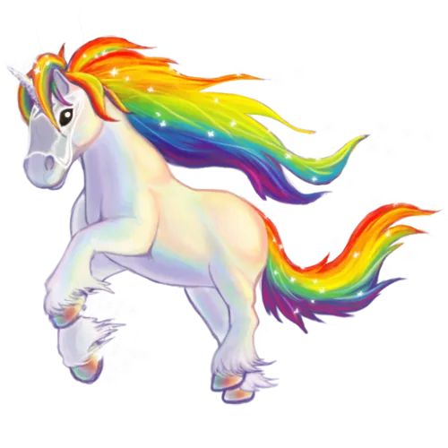 Rainbow unicorn png. Startup challenges it s