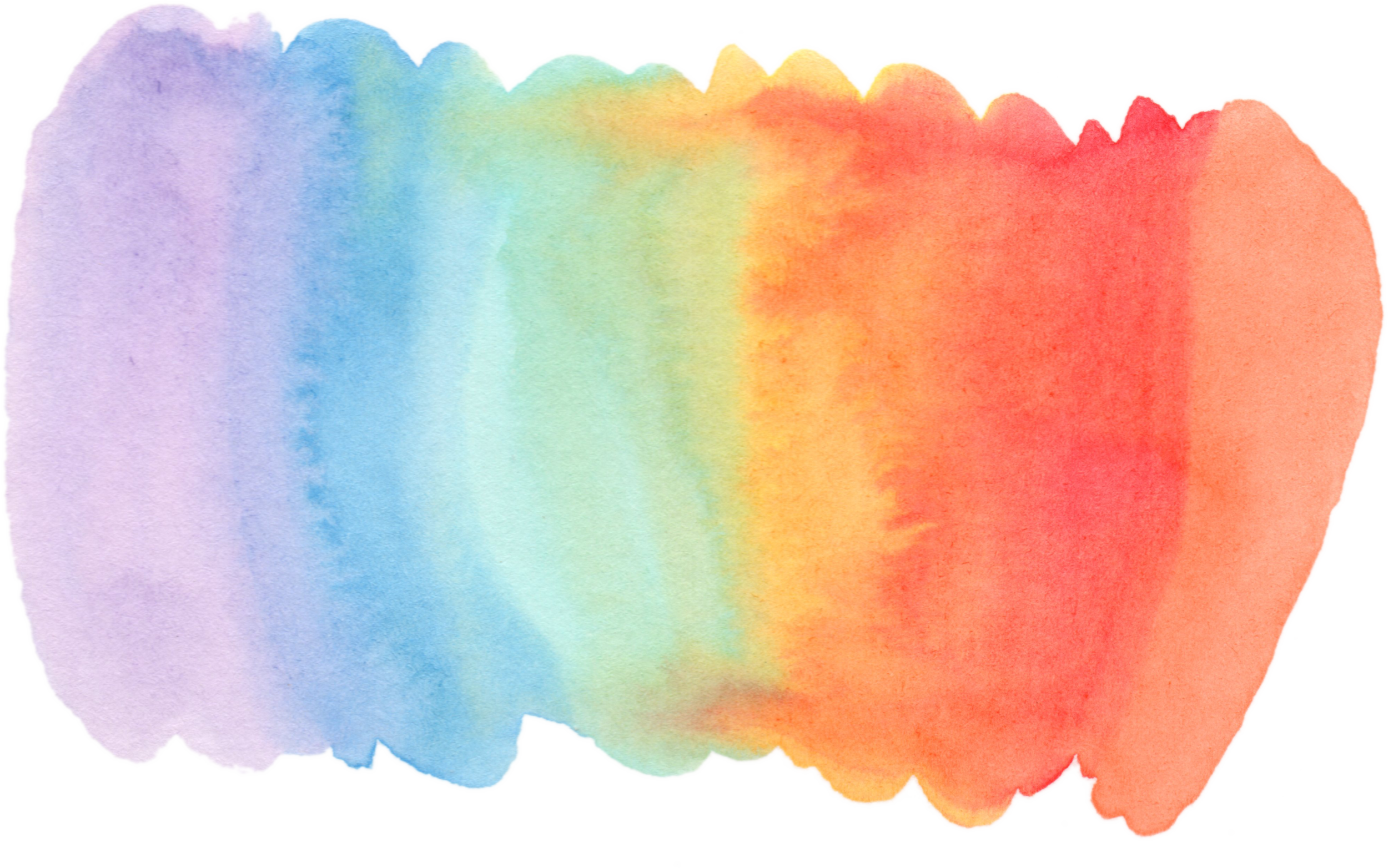 Rainbow watercolor png. You clever little patchpng