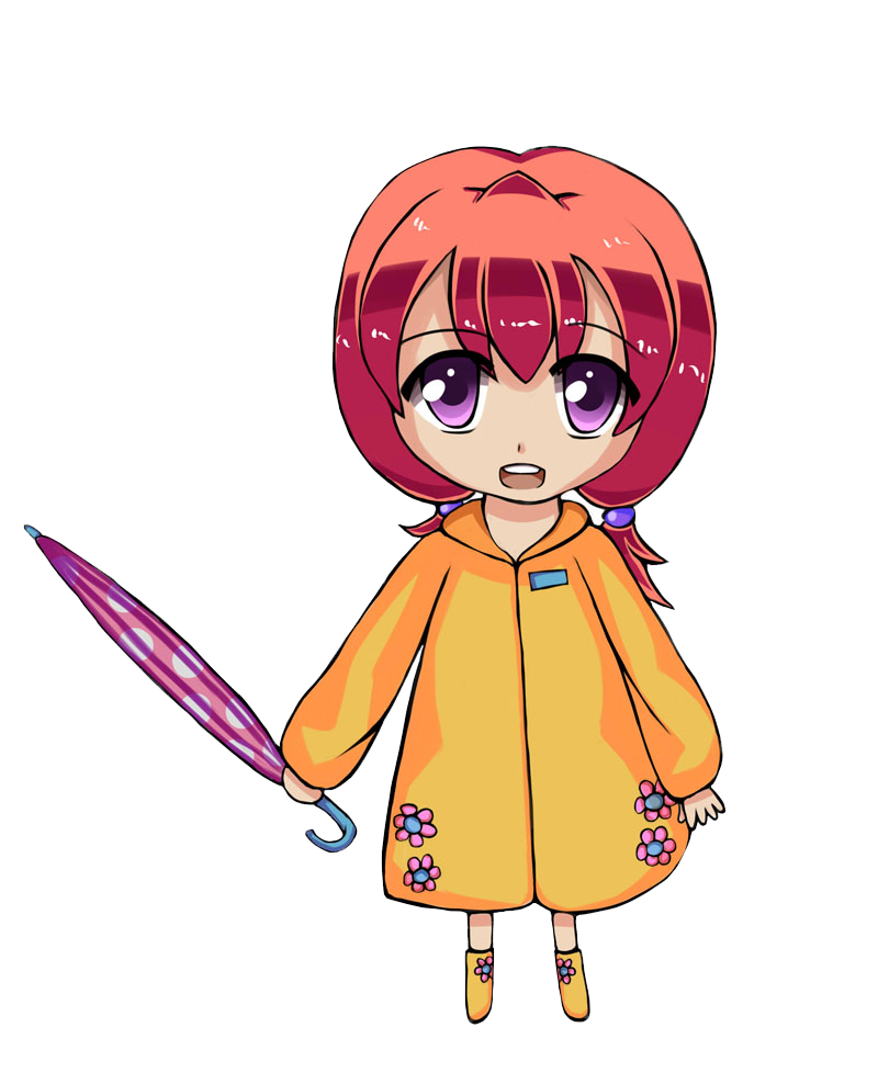 Chibi by lilyhum on. Raincoat drawing graphic freeuse