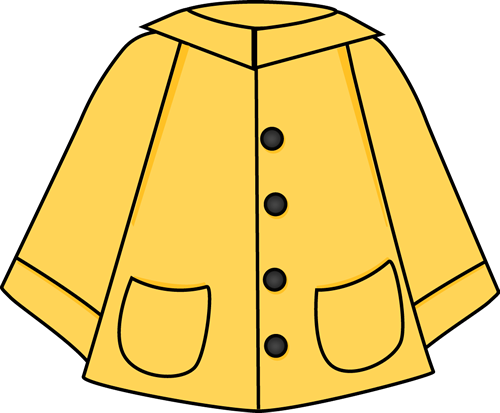 Raincoat drawing easy. Collection of for