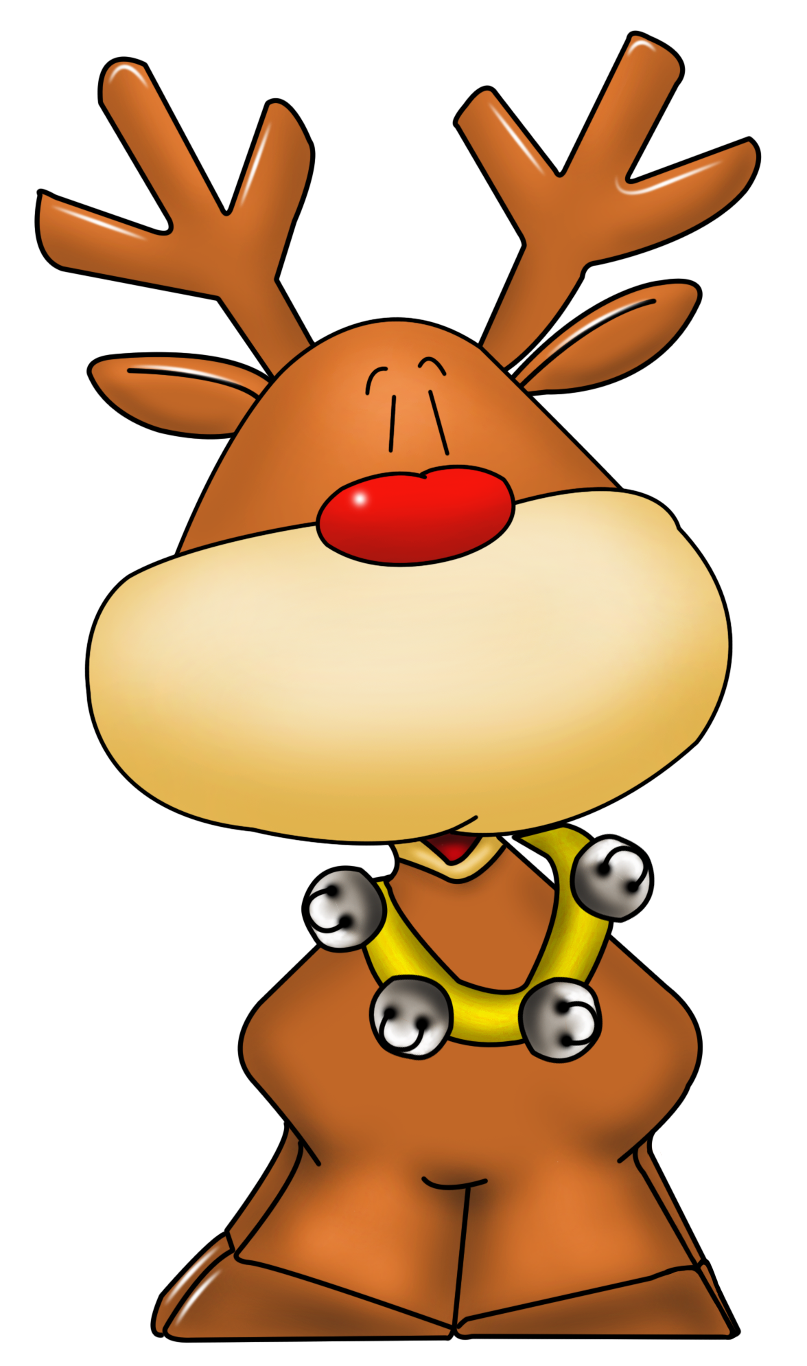 Raindeer drawing cartoon. Rudolph png picture christmas