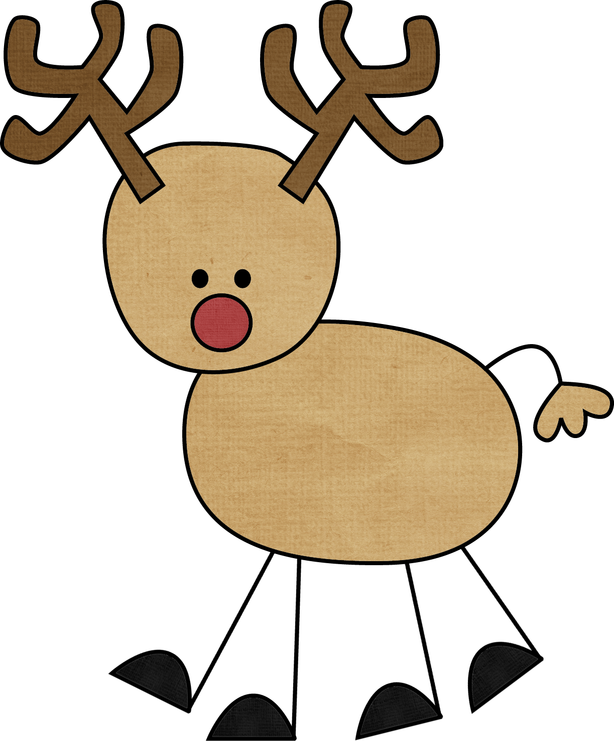 Cartoon at getdrawings com. Reindeer clipart simple clipart freeuse