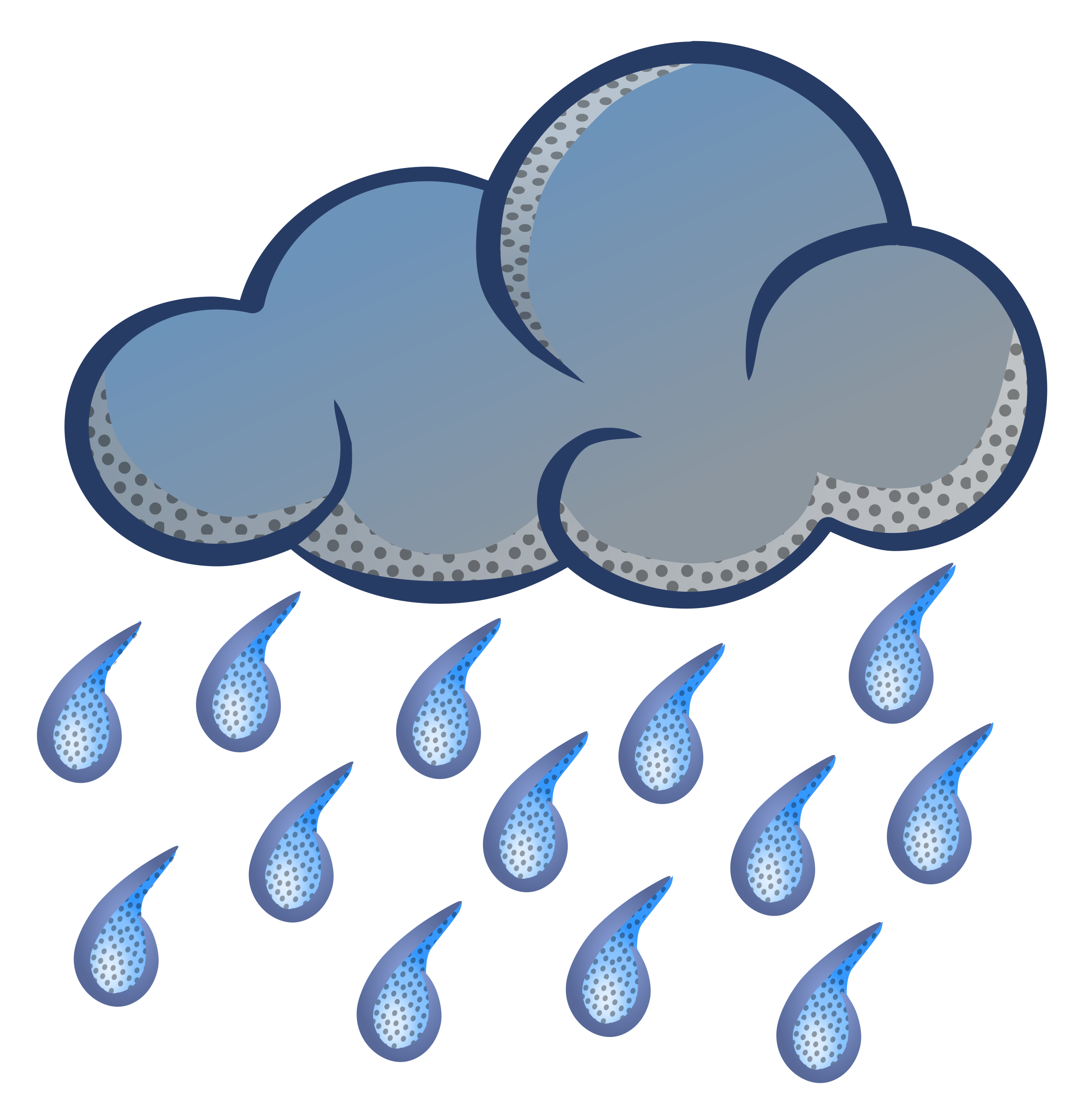 Raining clipart. Raindrops ulan pencil and