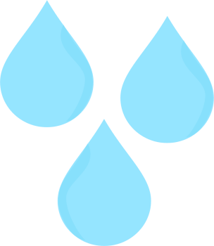 Transparent raindrops printable. Rain drop clipart at