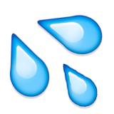 Transparent emotes sweat. Splashing symbol emoji