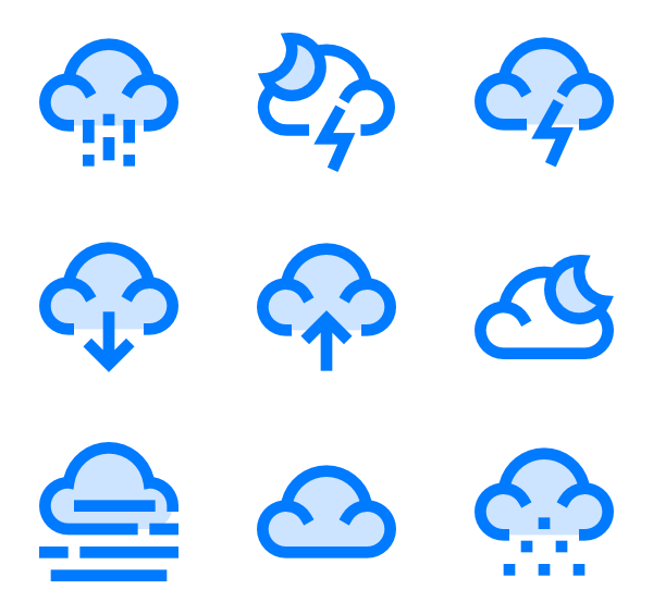 Icons free vector weather. Raindrop outline png clip art freeuse download