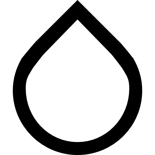 Raindrop outline png. Blur interface graphic tool
