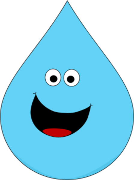Raindrops clipart smiley. Smiling raindrop free images
