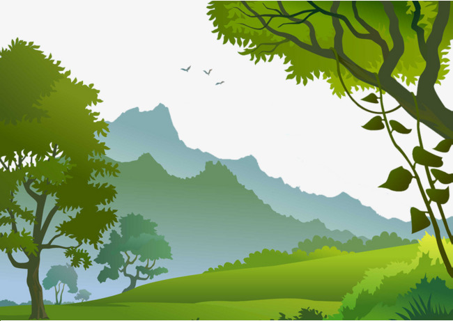 The in mountains tropical. Rainforest clipart scenery svg black and white