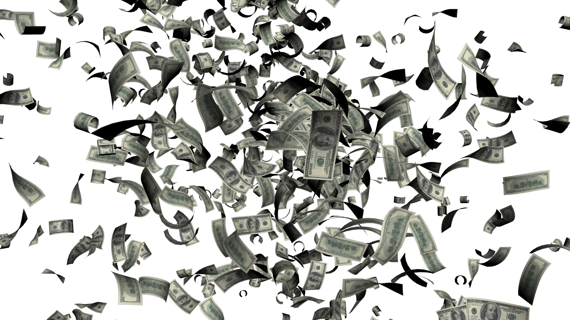 Falling money png hd. Images free download
