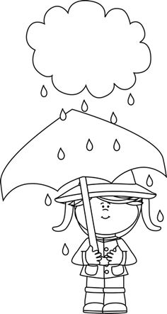 Raining clipart penguin. Black and white in