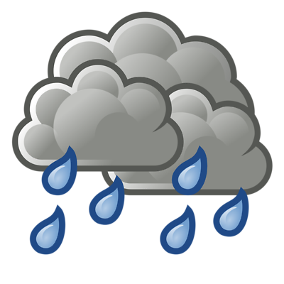 Raining clipart. Rainy cloud best panda