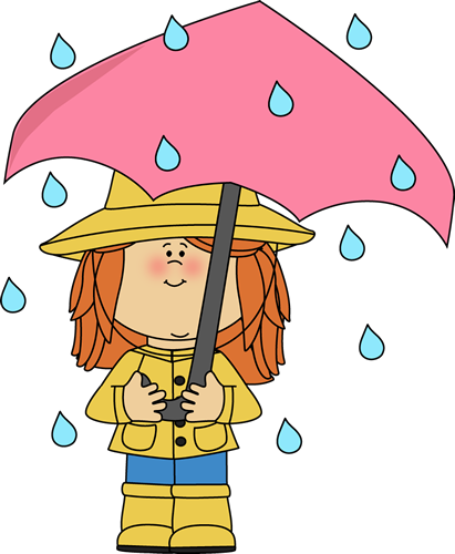 raincoat drawing kid