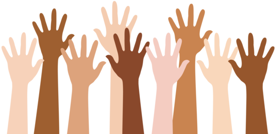 Hands in the air png. Clip art black and