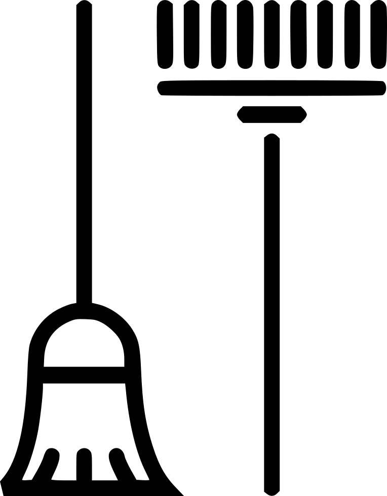Rake clipart broom. And svg png icon