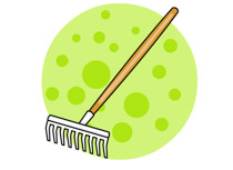 Rake clipart garden shears. Search results for tool