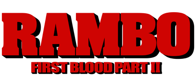 Rambo drawing first blood. Logo yxt the very