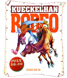 Ranch drawing rodeo. St annual kueckelhan
