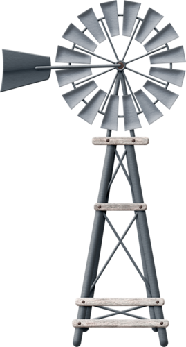 Vector windmill wind wheel