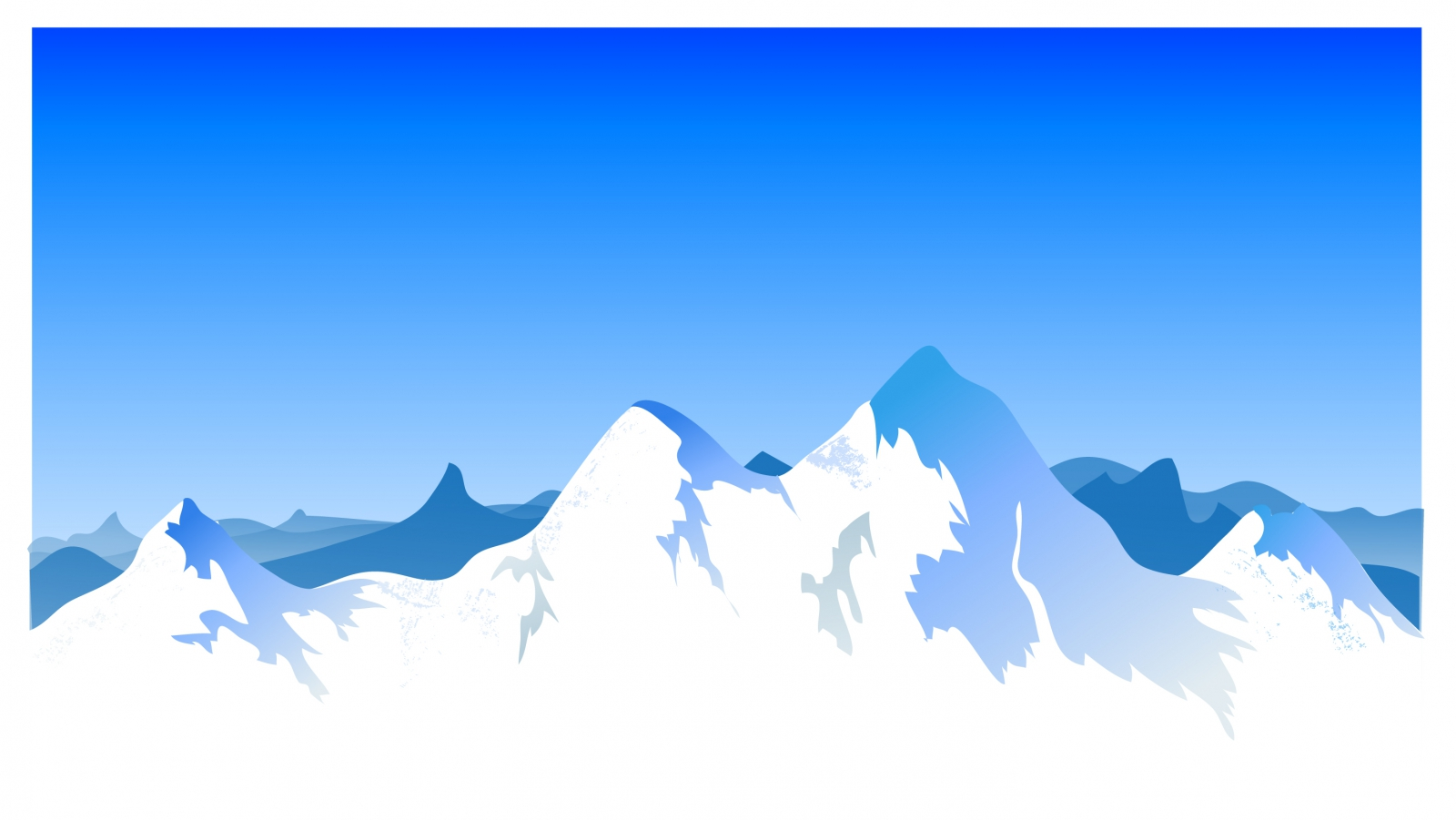 Range clipart snow capped mountain. Silhouette at getdrawings com
