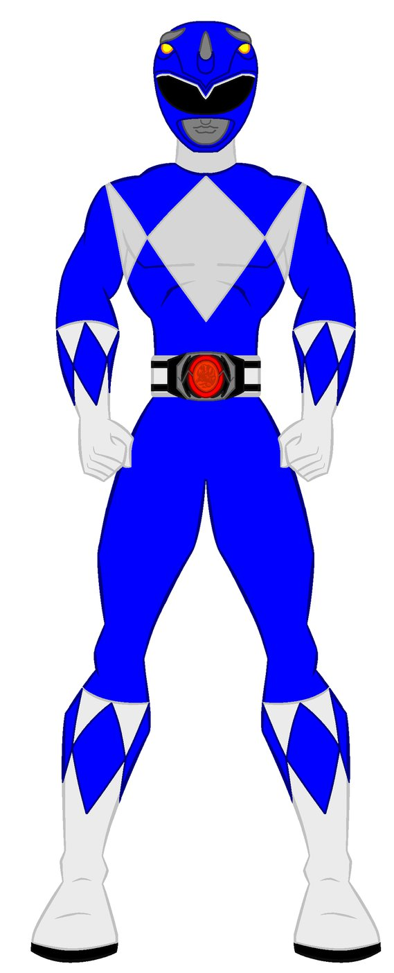 Rangers clipart blue power ranger. Silhouette at getdrawings com