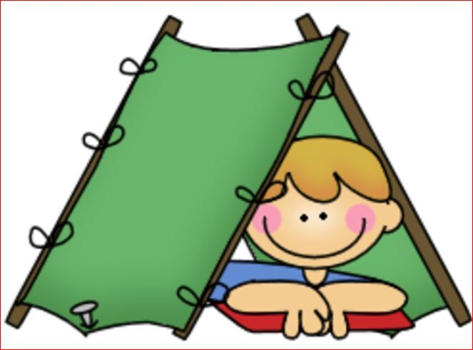 Cartoon clipart camping. Boy scout jpg theme