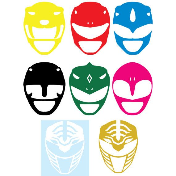 Rangers clipart decal. Custom power helmet helmets