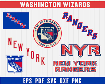 Rangers clipart new york rangers. Svg etsy cut files
