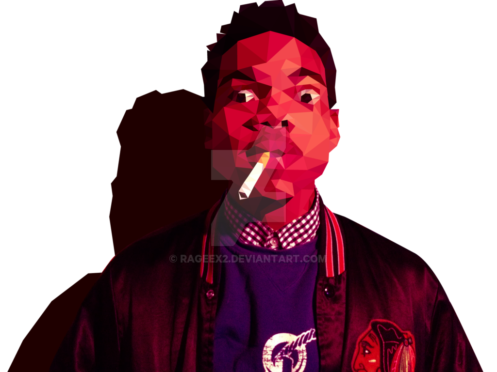 Rapper vector illustration. Chance the by rageex