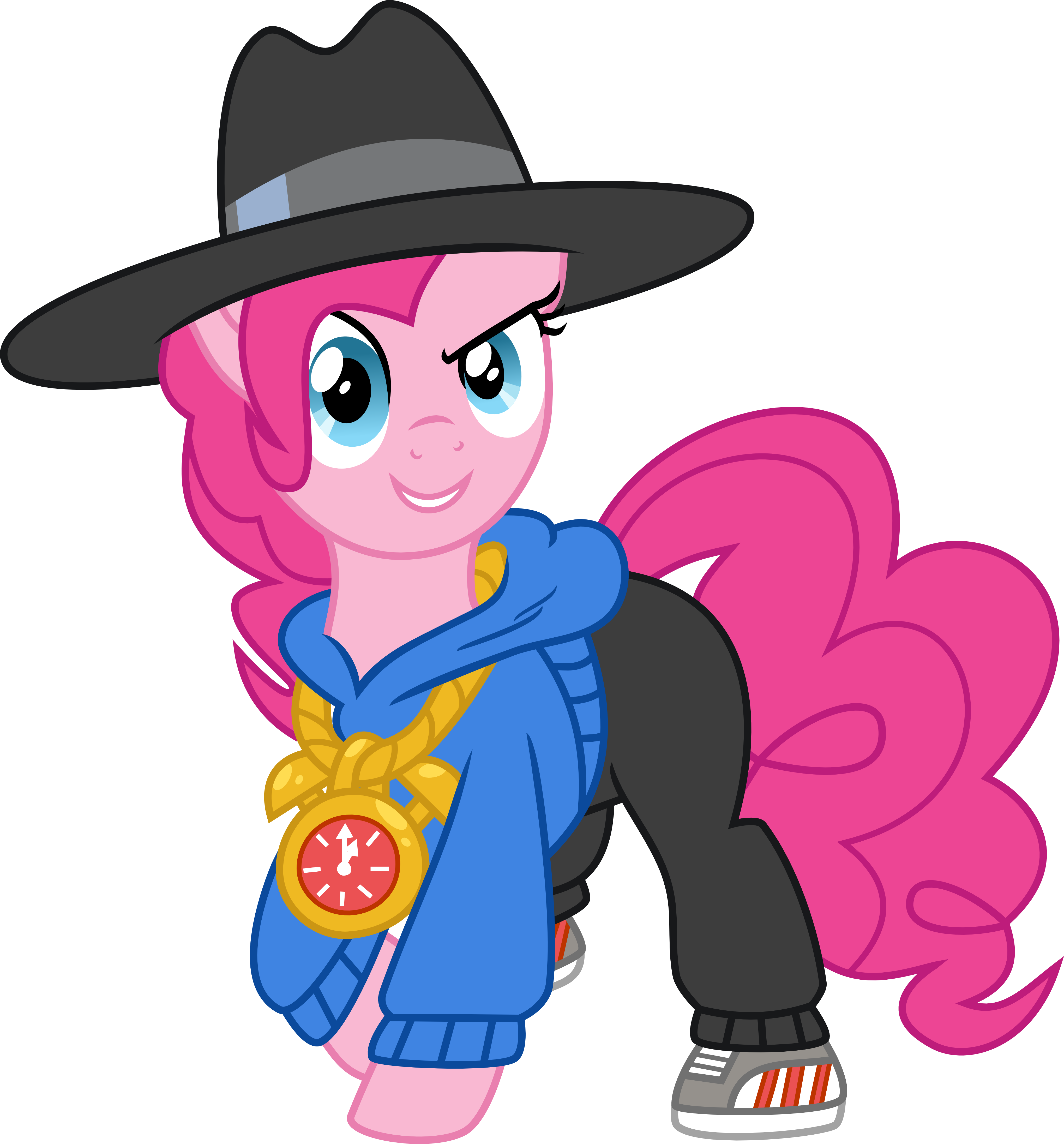 Rapper vector art. Pinkie by elsia pony