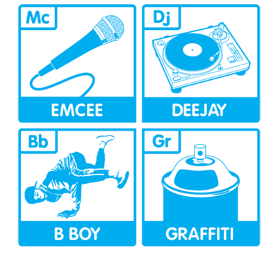 Rapper vector emcee. The four elements old