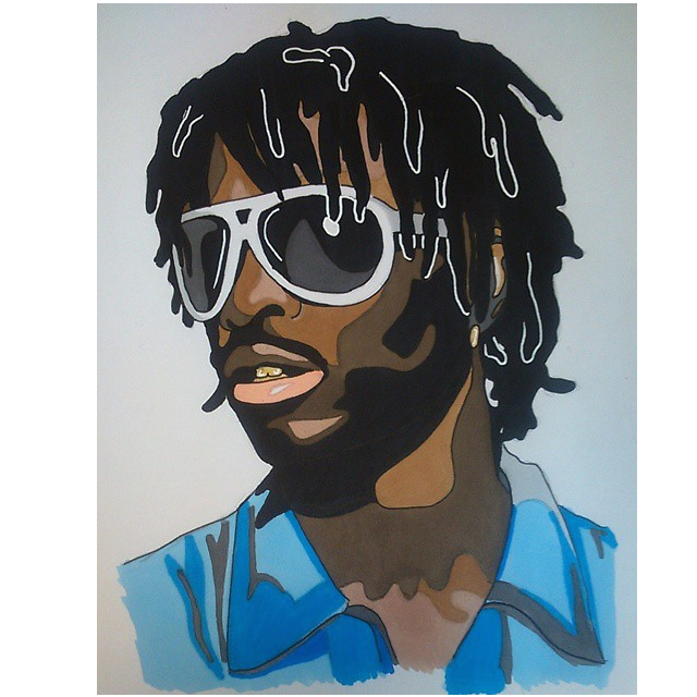 Rapper vector drawing. Pin by swagstar on