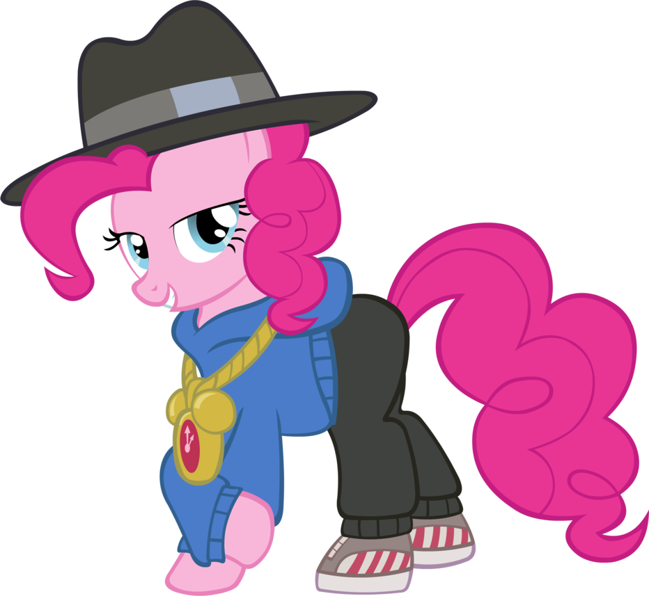 Rapper vector new gen. Pinkie by doctor g
